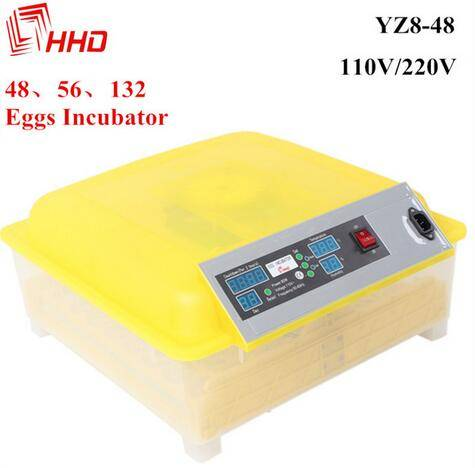 40$ 48 egg incubator hatching machine with CE passed YZ8-48