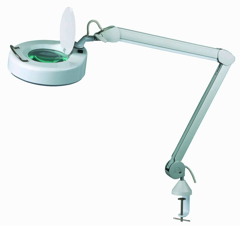 Antipinch Finger Magnifier Lamp