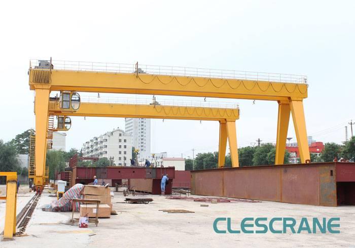 CLES CHG Series High Efficiency Wire Rope Electric Hoist Gantry Crane