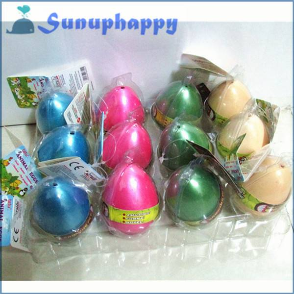 Factory supplier wholesale custom 5*7cm colorful dinosaur egg