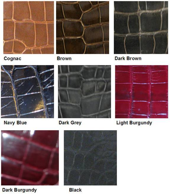 crocodile skin leather for handbags