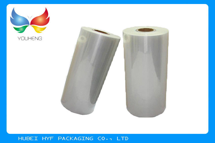 Counterfeit Prevention PETG Shrink Film , Food Packing Shrink Wrap Film