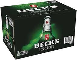 Becks Beer Bottle 330ml