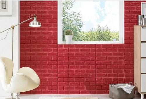 3D Wall Panel Waterproof Boards Interior Home Decoration Wall Panel 3D XPE Lightweigt Faux Brick Wal