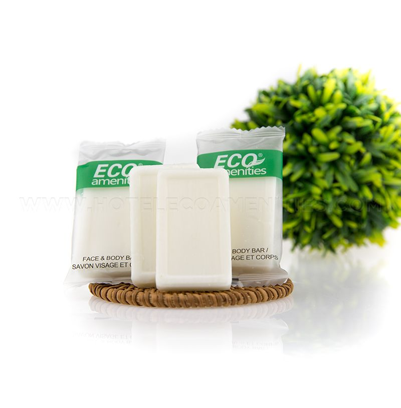 ECO AMENITIES Hotel Face & Body Soap 14g/0.5oz