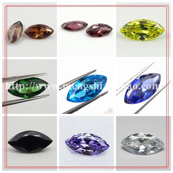 factory wholesale price 3.5*7mm marquise shape cubic zirconia