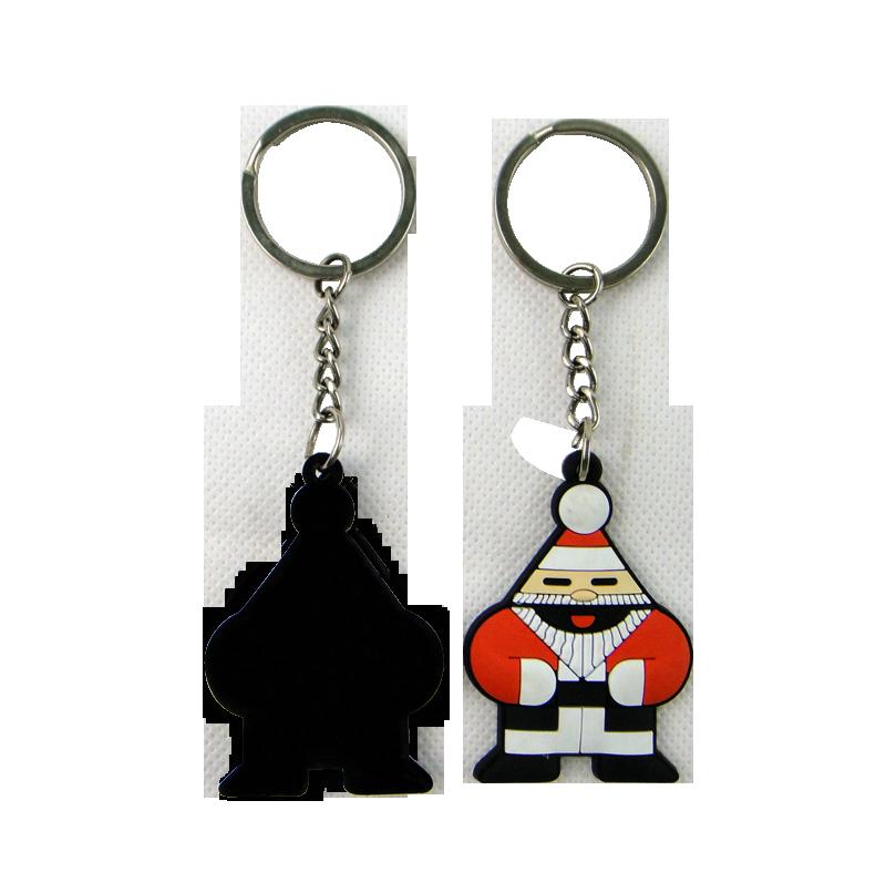 Customzied Fancy designs Soft PVC Rubber 3D Keychain
