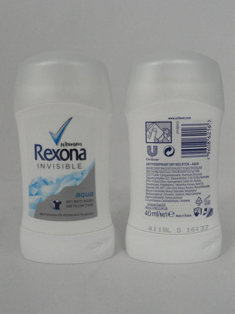 REXONA STICK AQUA 6X40ML