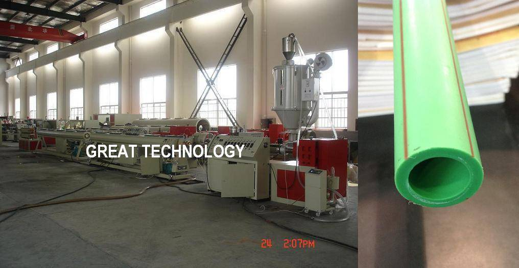 16mm 63mm 110mm hot cold water PPR pipe production line