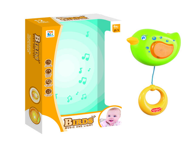 Hot sale Baby Playing Rattles with Music & Light