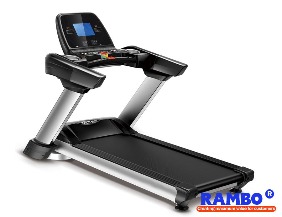 "7"" LED Blue Screen Business Flagship Alectric Treadmill RB-703"