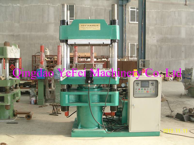 Single Plate Rubber Silicone Vulcanizing Machine