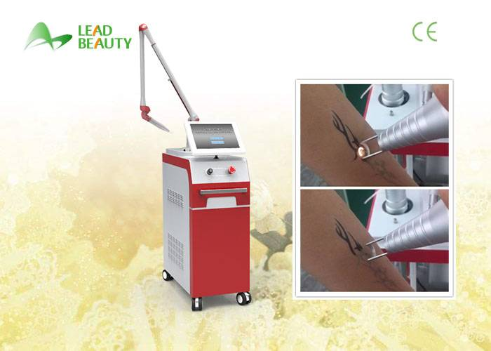1300W q switched nd yag laser tattoo removal machine Closed off water circulation + wind cooling
