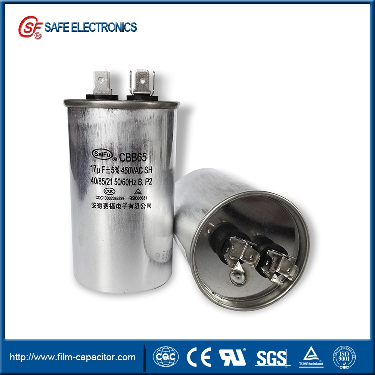 CBB65 ac motor capacitor of air conditioner