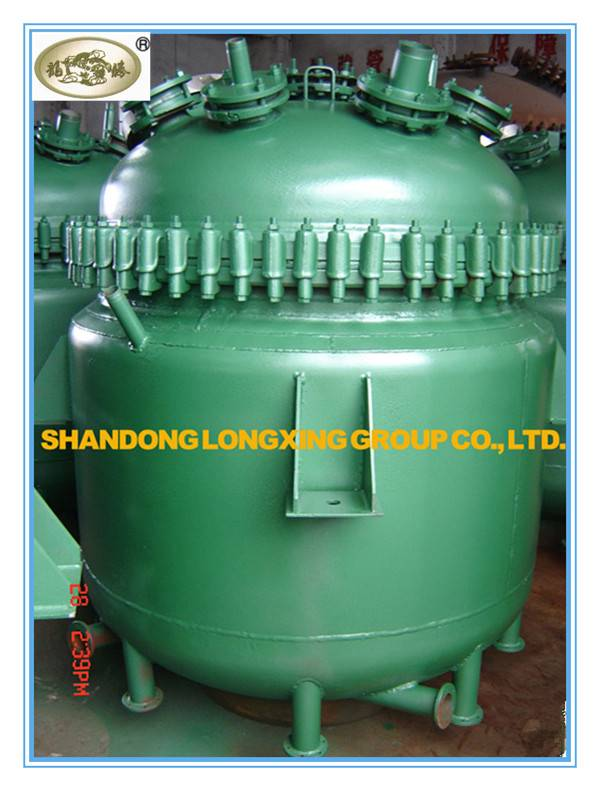 Glass Lined Electric Heating Reactor