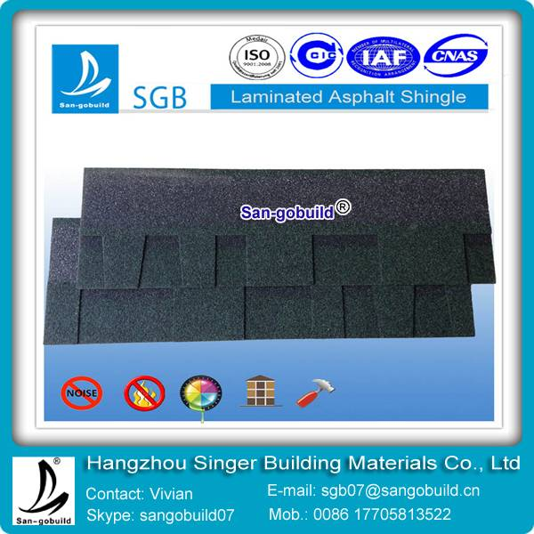 laminated asphalt shingles for building roofing material from china