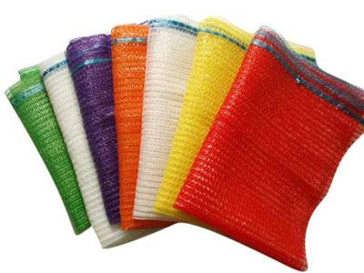 Plastic Vegetable Mesh Bags For Packing Potatoes And Onions