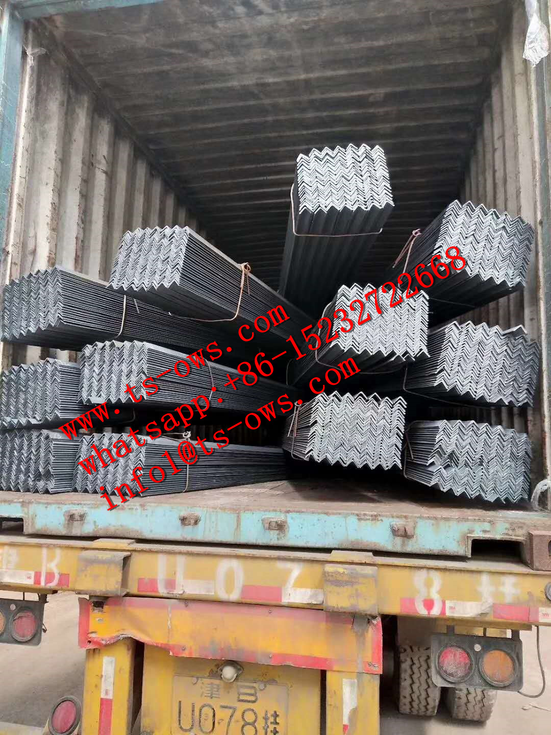 Angle Bar Steel for Building Materia