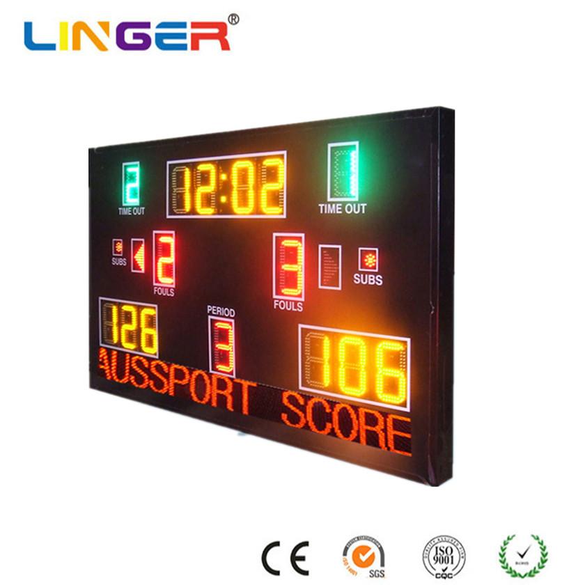Wireless Control Electronic Digital Basketball Scoreboard