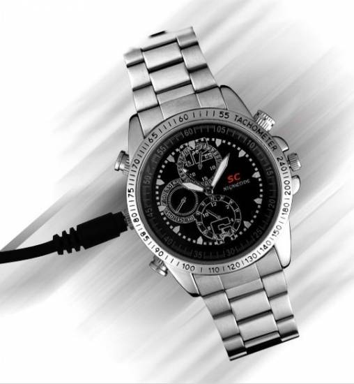 Spy Camera Sports Watch SC