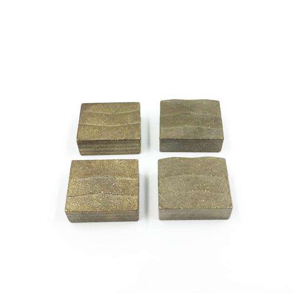 Top quality diamond tools segment for multi saw blade granite cutting