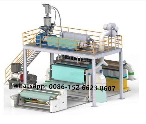 PP meltblown non-woven fabric making machine