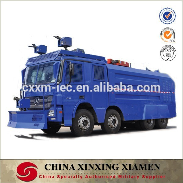 Mercedes Watercannon Armored vehicle