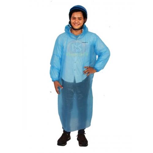 1000PCS Disposable Adult Emergency Waterproof Rain Coat Poncho Hiking Camping Hood