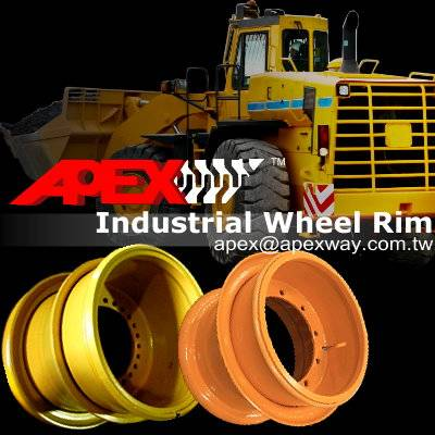 Wheel Loader Wheel Rim