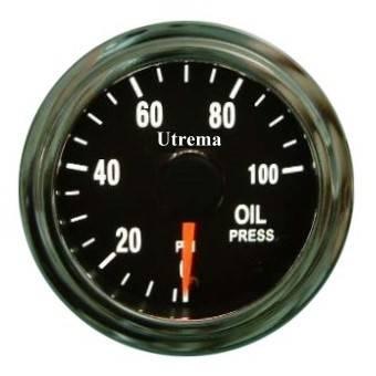 Utrema Auto Oil Pressure Gauge Illuminated 52mm