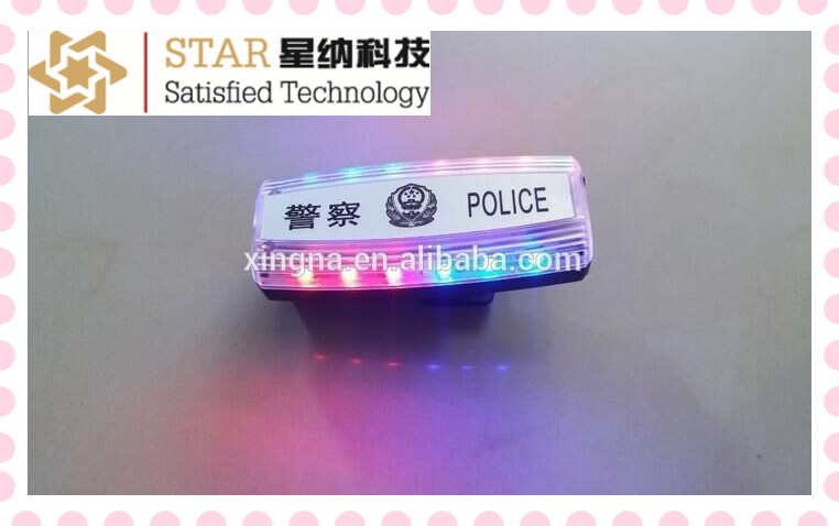 Led Mini Police Traffic Warning Shoulder Light