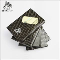 High fashion 3K twill matte carbon fiber business card holder for factory direct sale