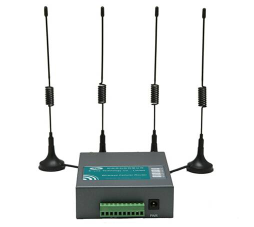 2015 hot sale e-lins H750 industrial wireless 4G FDD LTE dual sim router wifi vpn for CCTV