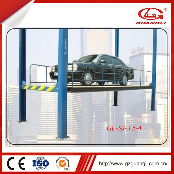 Guangli Professional Manufacturer Car Parking Lift Lifting Table (GL-SJ-3.5-4)