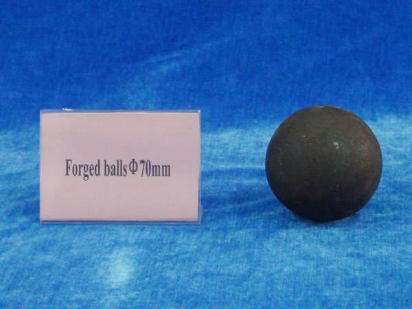 Forged grinding media ball 70mm