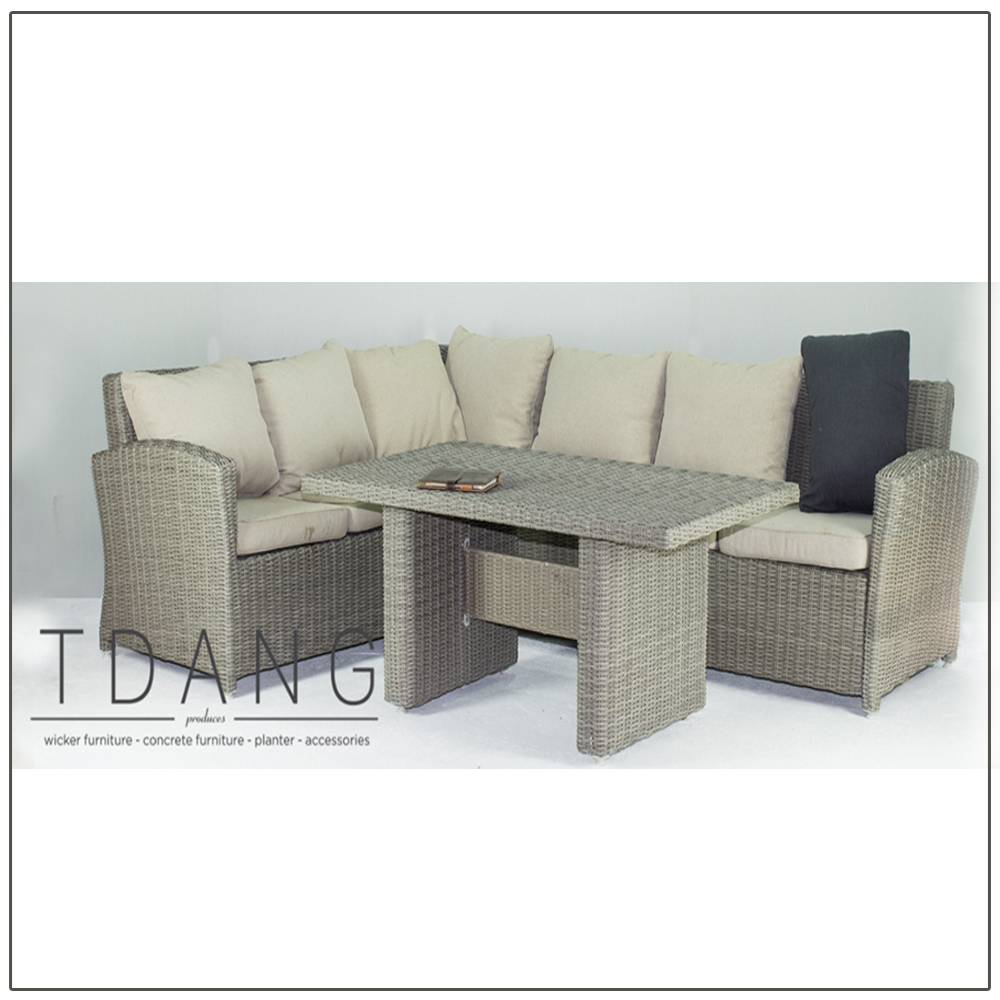 Sonoma 3 Pieces Deep Seating Group with Cushions (Code TD1008)