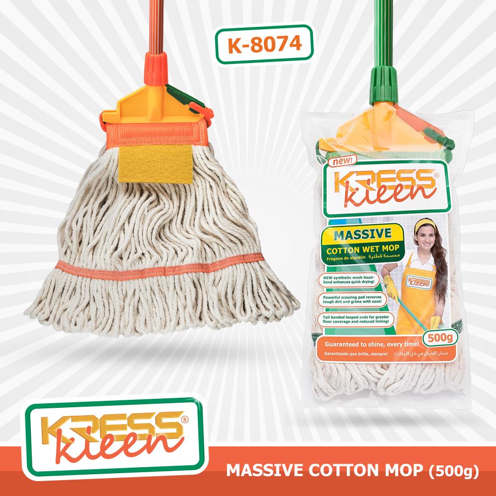 Item Discription:KRESS Kleen Massive Cotton Wet Mop