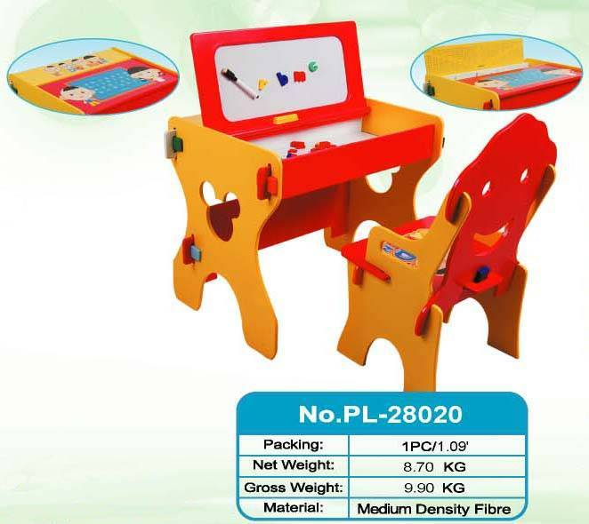 children desk, drawing board