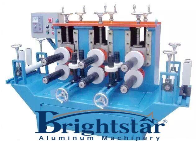 Aluminium shape correction machine