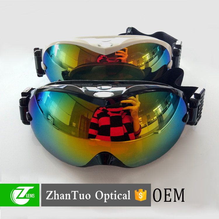 Mens Adults Winter Sports Anti-Fog Lens Mirror Snowboard Ski Snow Goggles