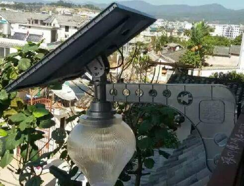 high lumen solar street light