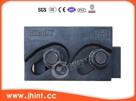 double hole rail clip 24-100kg