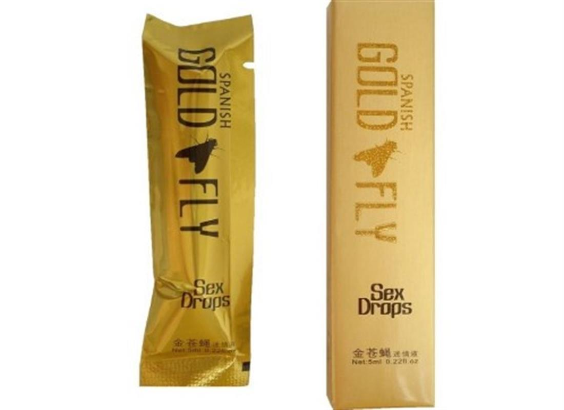 Gold Spanish Fly 5ml/sachet Sex Drive Her Libido