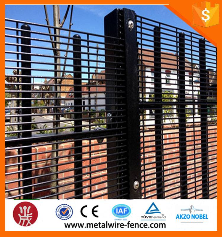 Anping Anti Climb lowest price high quality galvanized or PVC coated 358 high security fencing syste
