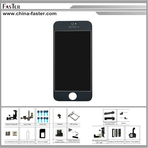 High Copy LCD For iPhone 5,replacement for iphone 5 lcd screen,high quality lcd screen for iphone 5