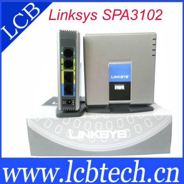 Linksys SPA3102 unlocked voice gateway