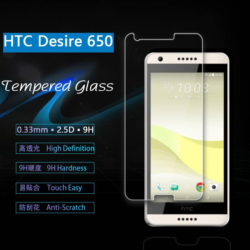 Apply to htc desire 650 tempered glass manufacturers selling