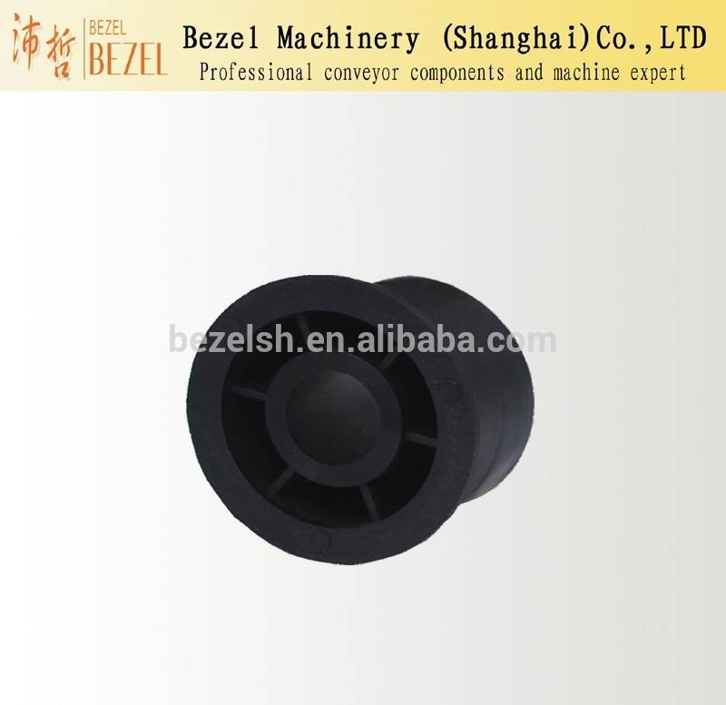 Middle black nylon conveyor wheel accessories