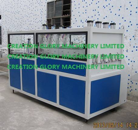 4 workstation haul off/traction device for plastic extrusion line