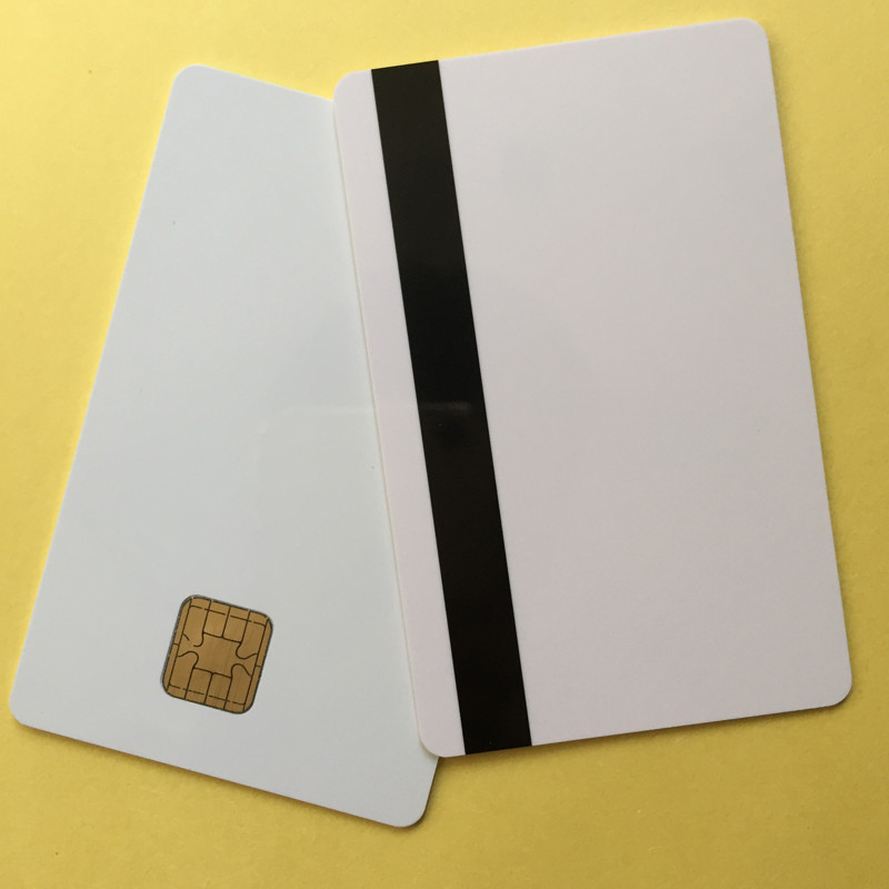 J2A040 Chip JAVA Smart Card With 2track Magnetic Stripe Comp JCOP21 40K